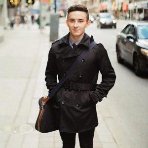 Carmine Mastropierro in downtown Toronto