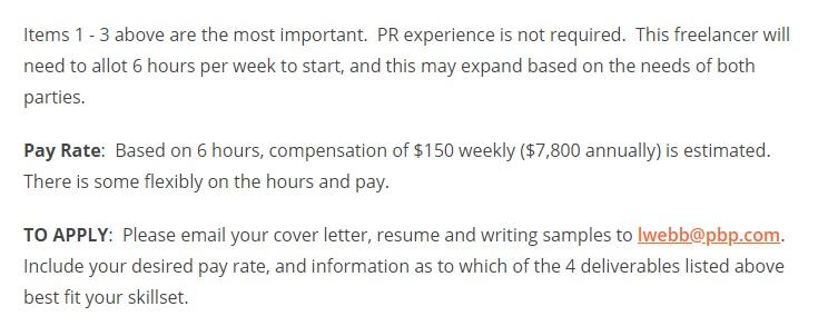 ProBlogger job description