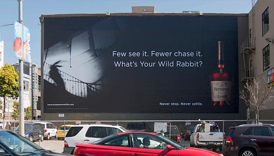 Hennessy billboard